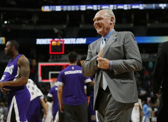 Yep, George Karl is making waves. (AP)