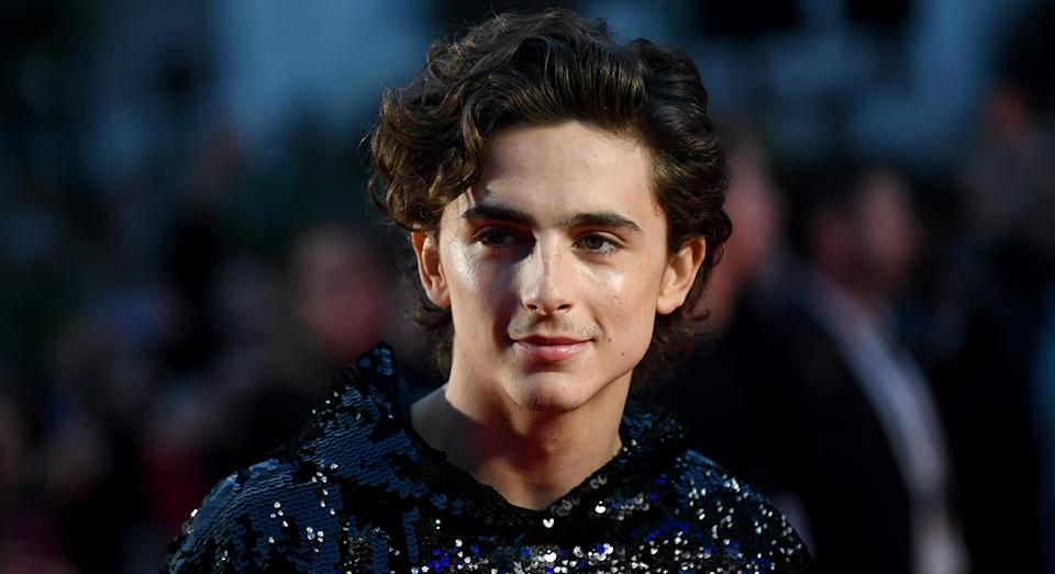 The 23-year-old actor has pulled out all the sartorial stops this year. [Photo: Getty]