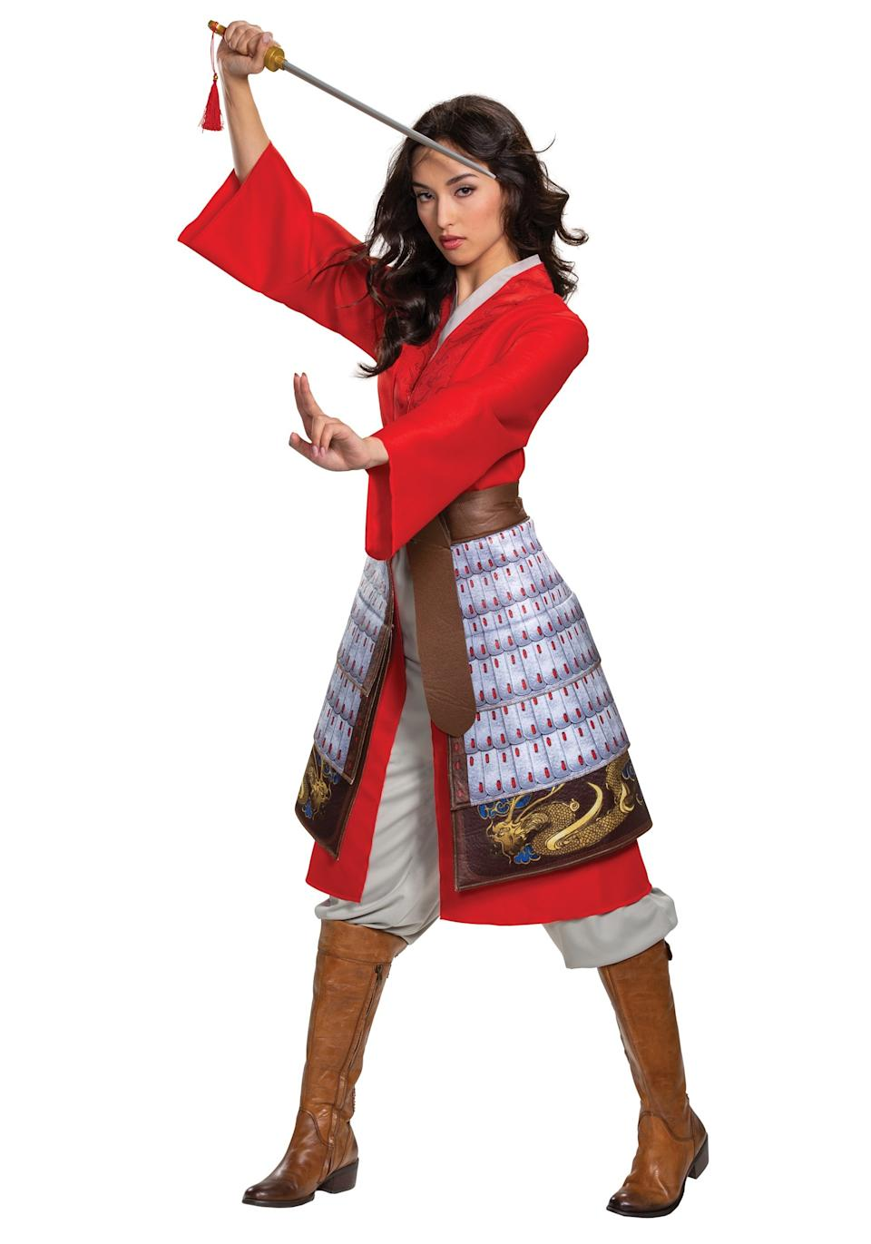 Mulan. Photo via halloweencostumes.com