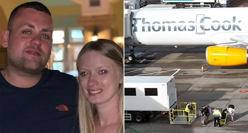 "A man called Thomas Cook has been left ""shattered"" as his Greek wedding in Rhodes looks unlikely to go ahead after the holiday firm of the same name collapsed. (Facebook)"