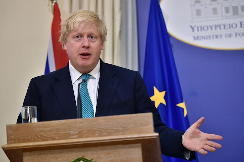"British Foreign Secretary Boris Johnson said, ""We stand alongside our international partners in making clear that North Korea must adhere to UN resolutions designed to secure peace and stability in the region and stop its pursuit of nuclear weapons"""