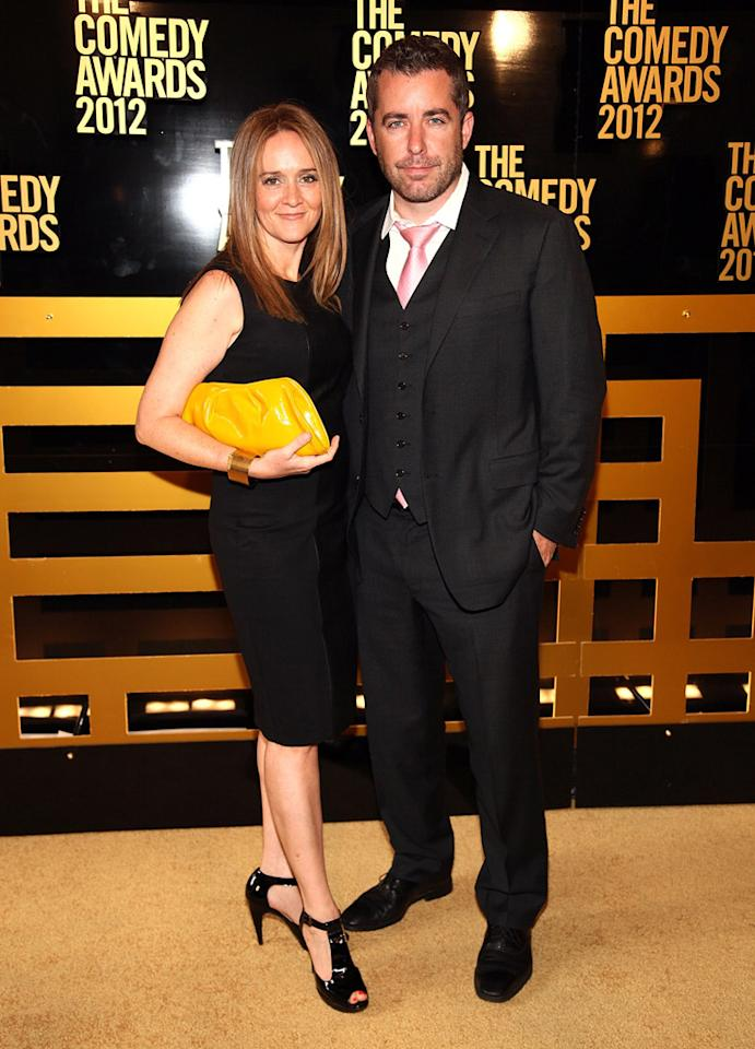 Samantha Bee and Jason Jones attend The Comedy Awards 2012 at Hammerstein Ballroom on April 28, 2012 in New York City.