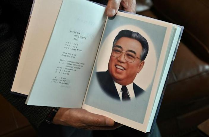 North Korean founder Kim Il-sung's eight-volume memoirs have been released in the South, potentially leaving their publisher at risk of prosecution for reproducing pro-Pyongyang materials