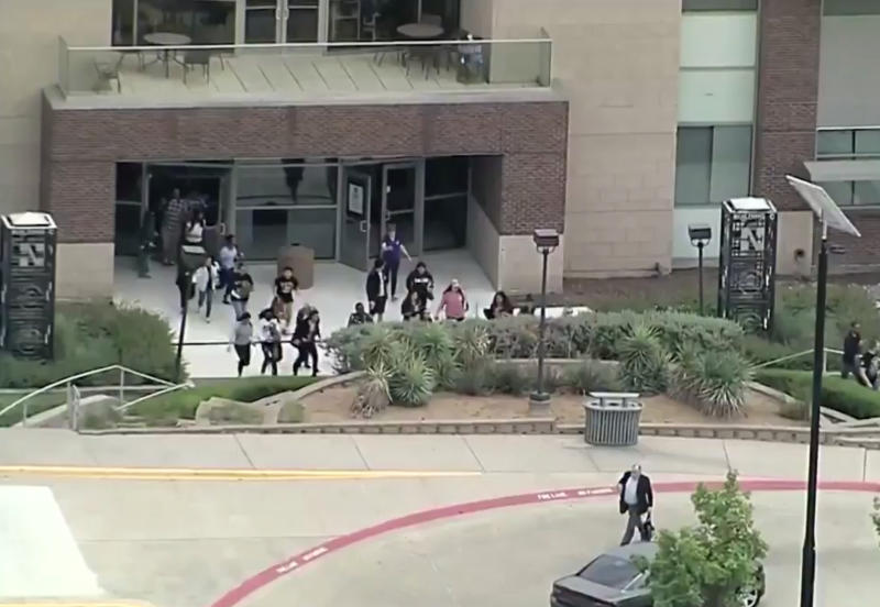 2 dead, including gunman, at Dallas-area community college