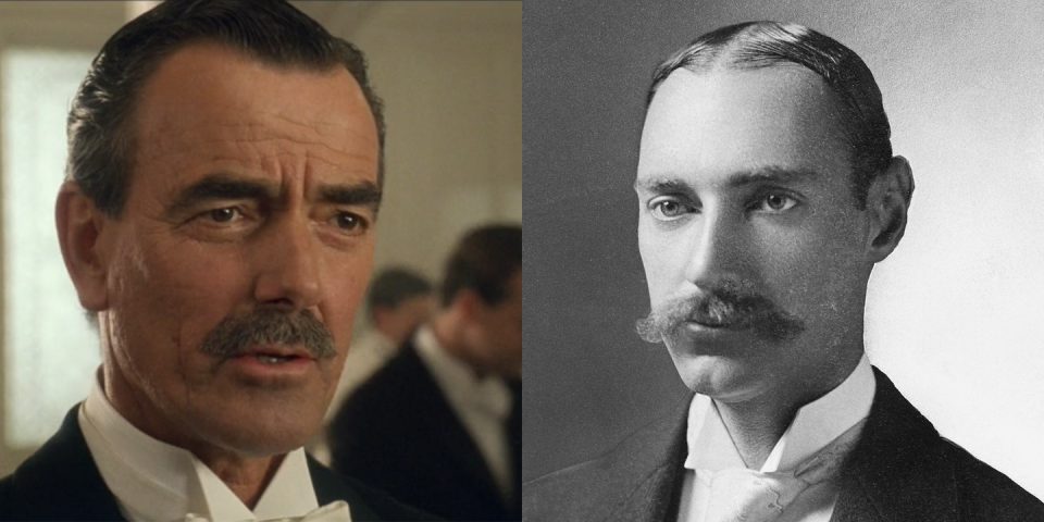 <p>John Jacob Astor IV, played by Eric Braeden, was the richest passenger on the <em>Titanic</em> and was one of the richest men in the world at the time of the sinking. His body was later recovered and was identified by initials sewn into his jacket. </p>