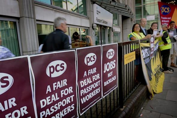 Passport Office Workers Strike Over Staff Shortages