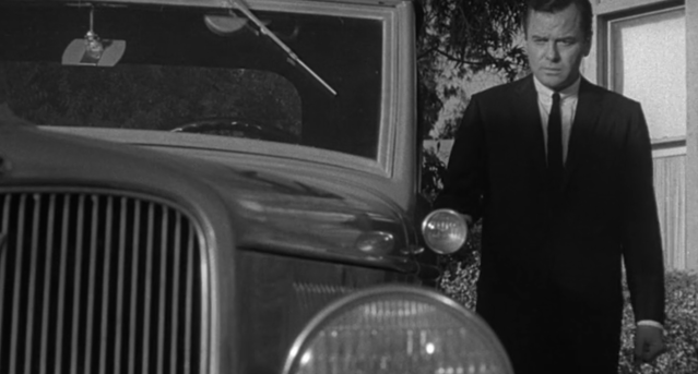 Gig Young in 'Walking Distance' from 'The Twilight Zone' (Photo: CBS/Netflix)