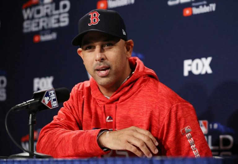 Boston Red Sox manager Alex Cora will be the first Puerto Rican manager in World Series history when the Red Sox host the Los Angeles Dodgers in Tuesday's opener
