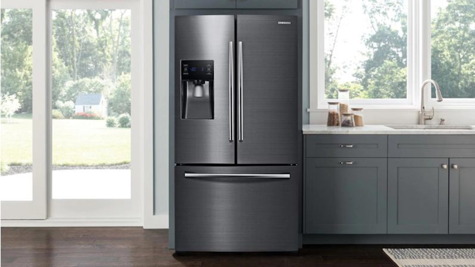 If you're looking for a refrigerator built for a family, this is for you. We like the Samsung RF263BEAESG for its fingerprint resistant stainless steel, ability to store large items, and its smart shelving and drawers