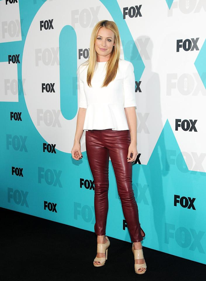 """Cat Deeley (""""So You Think You Can Dance"""" and """"The Choice"""") attends the Fox 2012 Upfronts Post-Show Party on May 14, 2012 in New York City."""