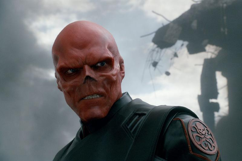 Hugo Weaving as Red Skull in <i>Captain America: The First Avenger</i>. (Marvel)