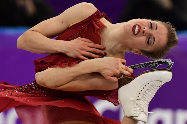<p>A figure skater's heart rate averages around 200 beats per minute during their program. This is equivalent to the same BPM that runners experience in an 800-meter race. </p>