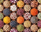 """<p>It's hard to imagine a more perfect food than beans. One cooked cup can provide as much as 17 grams of fiber. They're also loaded with protein and dozens of key nutrients, including a few most women fall short on—calcium, <a href=""""https://www.prevention.com/food-nutrition/a20466110/13-foods-that-have-more-potassium-than-a-banana/"""" rel=""""nofollow noopener"""" target=""""_blank"""" data-ylk=""""slk:potassium"""" class=""""link rapid-noclick-resp"""">potassium</a>, and <a href=""""https://www.prevention.com/food-nutrition/g20105121/magnesium-deficiency-symptoms/"""" rel=""""nofollow noopener"""" target=""""_blank"""" data-ylk=""""slk:magnesium"""" class=""""link rapid-noclick-resp"""">magnesium</a>. Studies tie beans to a reduced risk of heart disease, type 2 diabetes, <a href=""""https://www.prevention.com/health/health-conditions/g26576559/foods-for-high-blood-pressure/"""" rel=""""nofollow noopener"""" target=""""_blank"""" data-ylk=""""slk:high blood pressure"""" class=""""link rapid-noclick-resp"""">high blood pressure</a>, and breast and colon cancers. Keep your cupboards stocked with all kinds: black, white, kidney, fat-free refried, etc.</p><p><strong>Try it: </strong><a href=""""https://www.prevention.com/food-nutrition/recipes/a20525857/vegetable-chili-with-cannellini-and-kidney-beans/"""" rel=""""nofollow noopener"""" target=""""_blank"""" data-ylk=""""slk:Vegetable Chili with Cannellini and Kidney Beans"""" class=""""link rapid-noclick-resp"""">Vegetable Chili with Cannellini and Kidney Beans</a></p>"""