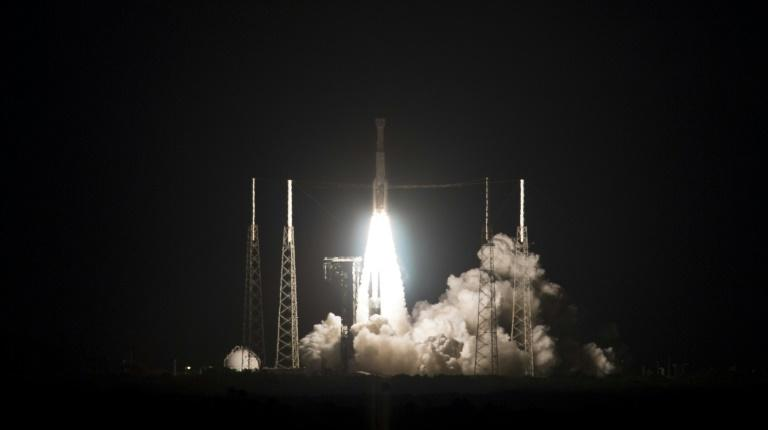 United Launch Alliance Atlas V rocket with Boeing's CST-100 Starliner spacecraft launches from Space Launch Complex 41, Friday, December 20, 2019, at Cape Canaveral Air Force Station in Florida (AFP Photo/Joel KOWSKY)