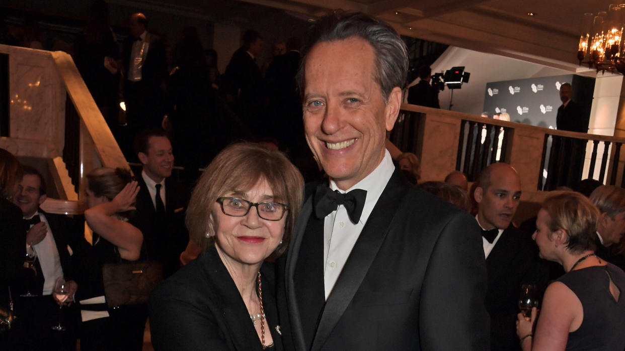 Richard E. Grant has paid tribute to his wife, Joan Washington, who passed away this week. (David M. Benett/Getty Images)