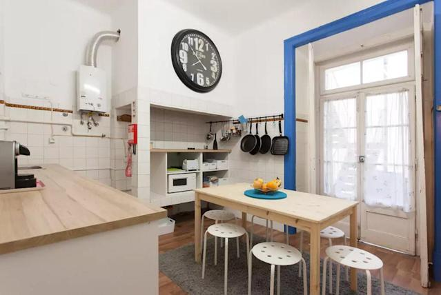 <p>Here is the kitchen. </p>
