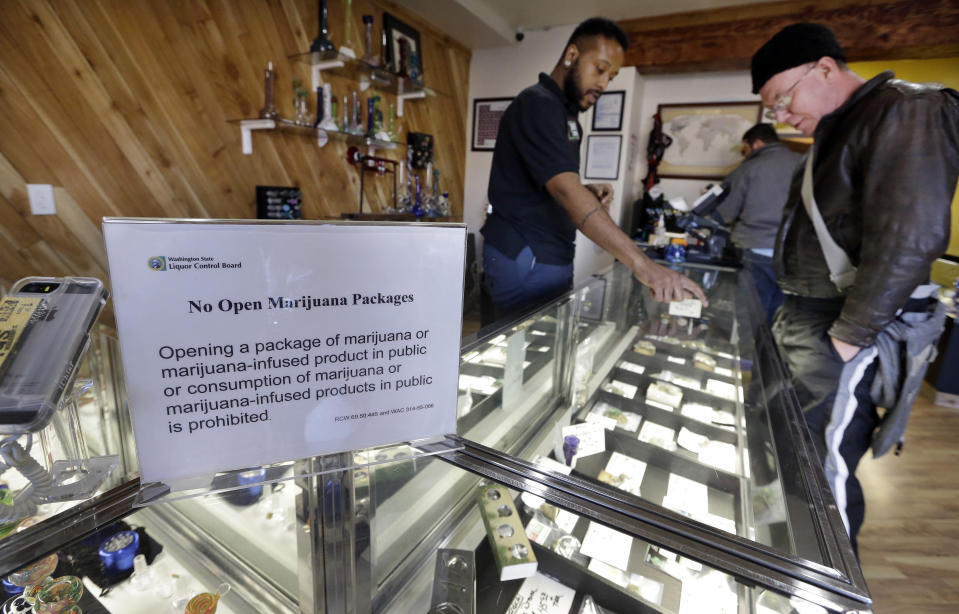 Two states where pot is getting cheaper