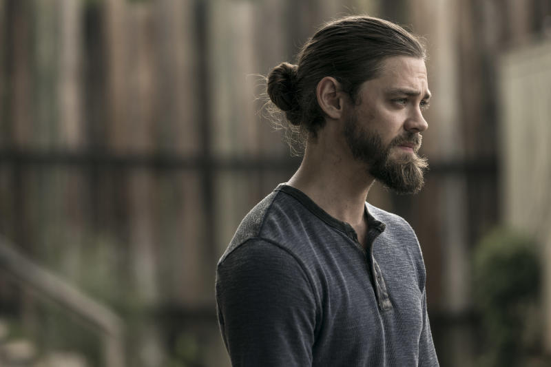 "Tom Payne, aka Jesus on ""The Walking Dead."""