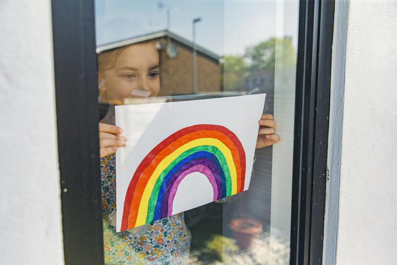 The coronavirus pandemic has had an impact on children's story writing. (Getty Images)