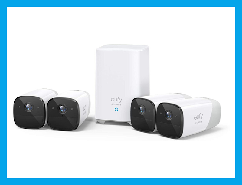 This eufyCam 2 Wireless Home Security Camera System four-cam kit is 30 percent off, today only! (Photo: eufy)