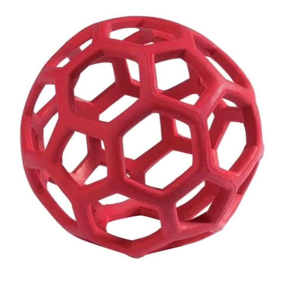 """<p>Show your dog you love their head and their heart with this puzzle toy that should keep them busy for hours.</p> <p><strong>Buy it!</strong> JW Hol-ee Roller Original Do It All Puzzle Ball, Starts at $4.99; <a href=""""https://www.amazon.com/JW-Hol-ee-Roller-Original-Dispensing/dp/B005BV0EQI/"""" rel=""""nofollow noopener"""" target=""""_blank"""" data-ylk=""""slk:Amazon.com"""" class=""""link rapid-noclick-resp"""">Amazon.com</a></p>"""