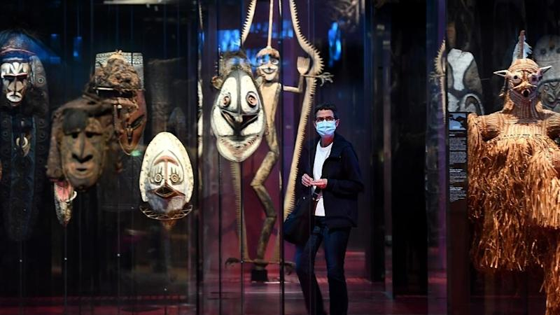 Activist who seized African artwork from Paris museum defends 'political act' at French trial