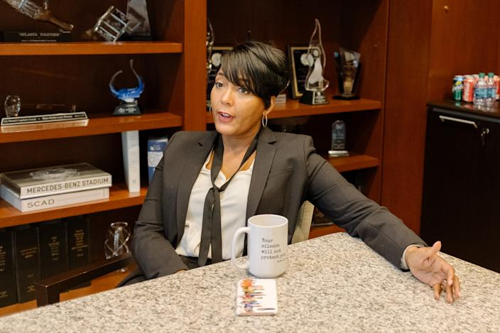 Atlanta Mayor Keisha Lance Bottoms. (Photo: Lynsey Weatherspoon for Yahoo News)