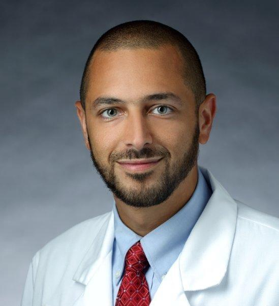 Dr. Bassem Khalil, internist and attending physician at Georgetown Hospital.