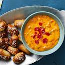 """<p>As if queso couldn't get any better, this pepperoni version is a total winner. Serve it with pretzel bites for a fun twist.</p><p><strong><a href=""""https://www.thepioneerwoman.com/food-cooking/recipes/a34293238/pepperoni-queso-recipe/"""" rel=""""nofollow noopener"""" target=""""_blank"""" data-ylk=""""slk:Get the recipe."""" class=""""link rapid-noclick-resp"""">Get the recipe.</a></strong></p><p><strong><a class=""""link rapid-noclick-resp"""" href=""""https://go.redirectingat.com?id=74968X1596630&url=https%3A%2F%2Fwww.walmart.com%2Fbrowse%2Fhome%2Fthe-pioneer-woman-bowls%2F4044_623679_3480962_3544662&sref=https%3A%2F%2Fwww.thepioneerwoman.com%2Ffood-cooking%2Fmeals-menus%2Fg35049189%2Fsuper-bowl-food-recipes%2F"""" rel=""""nofollow noopener"""" target=""""_blank"""" data-ylk=""""slk:SHOP BOWLS"""">SHOP BOWLS</a><br></strong></p>"""