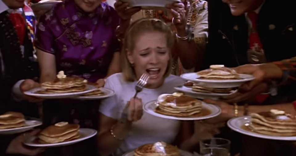 Sabrina gets addicted to pancakes in a truly wild episode.