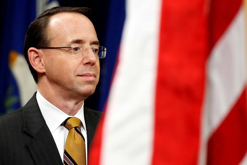 Rosenstein privately mulls recusal from Russian Federation  probe