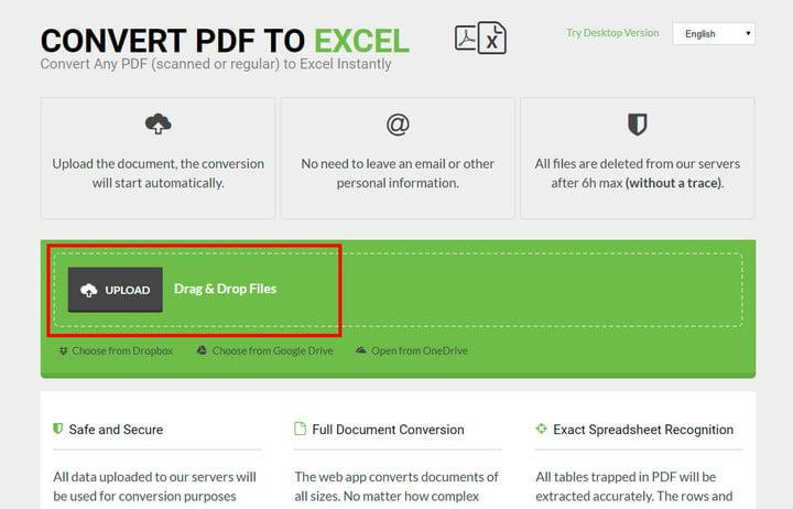 convert html document to pdf file