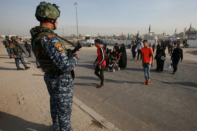 Iraq Boosts Security Measures at Base Where US Trainers Stay