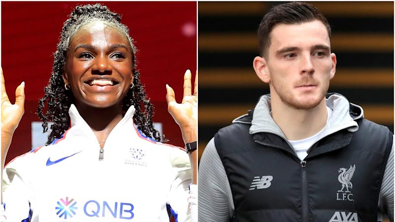 Dina on track and Robertson's biggest fan – Wednesday's sporting social