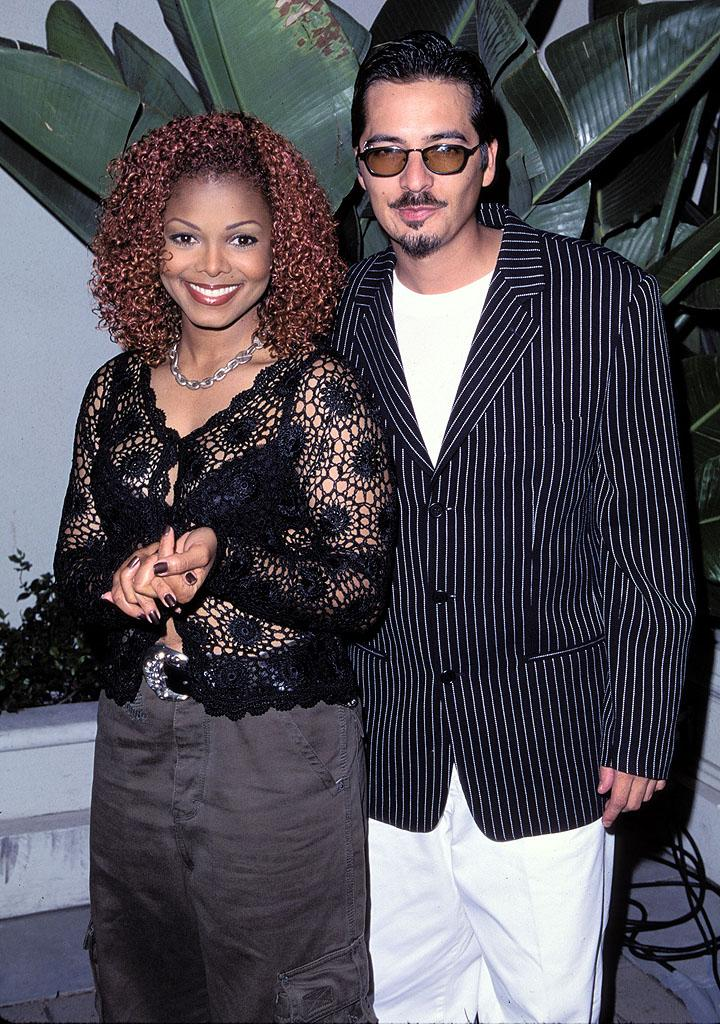 """<p class=""""MsoNormal"""">When Janet Jackson announced in 2000 that she and songwriter and music video director Rene Elizondo had broken up, she wasn't just sharing the news of her split with the world, she was actually announcing for the first time that the two had been secretly married … and weren't just breaking up, but divorcing. ''I'm as surprised as you are that we managed to keep it a secret,'' Elizondo said of his marriage to the pop singer, which lasted about eight years (though they were together for 13). Jackson was later ordered to pay her ex a reported $10 million divorce settlement. </p>"""