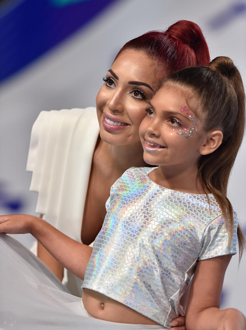 Farrah Abraham with daughter Sophia