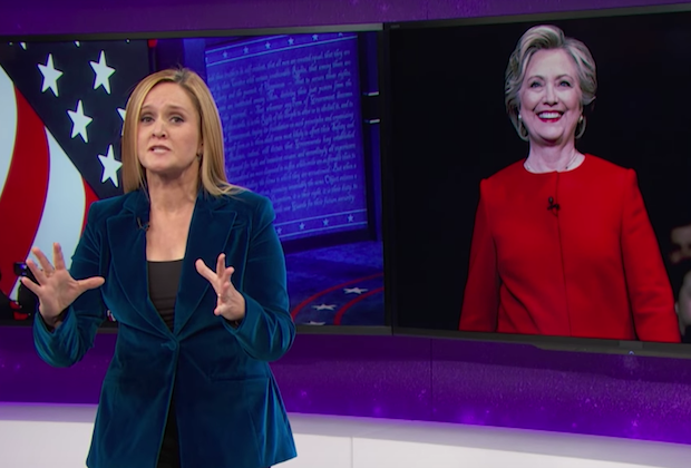 Samantha Bee blasts Donald Trump's sexism and debate prep on 'Full Frontal'
