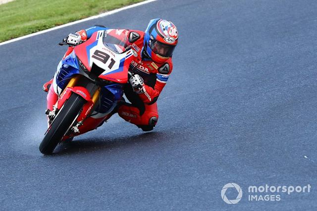"Leon Haslam, Team HRC <span class=""copyright"">Gold and Goose / Motorsport Images</span>"