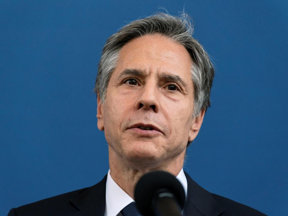 The US Secretary of State Antony Blinken has said that China needs to assist with the next look into the origins of covid following commitments made at the G7 (REUTERS)