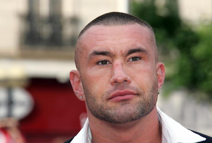 Jerome Le Banner at the Cannes Film Festival on May 20, 2006 (AFP Photo/Francois Guillot)