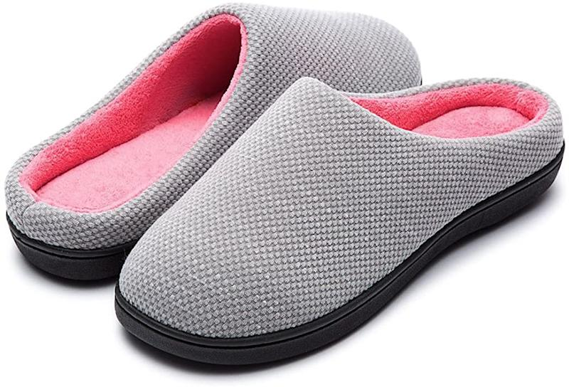 RockDove Women's Original Two-Tone Memory Foam Slippers are on sale during Prime Day 2020.