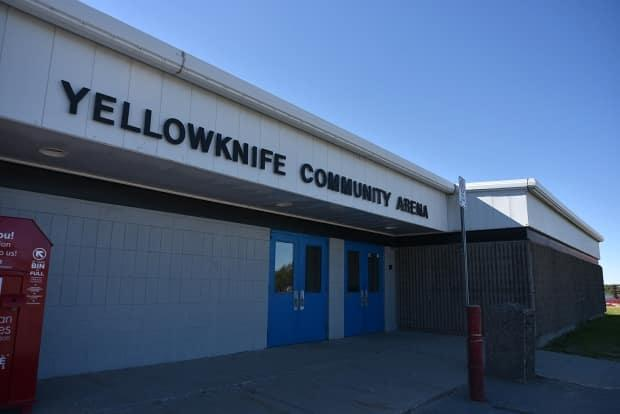 The Yellowknife Community Arena is serving as a temporary day and overnight shelter in Yellowknife. (Walter Strong/CBC - image credit)