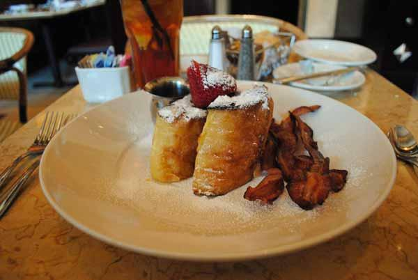 1. Bruléed French Toast -- The Cheesecake Factory