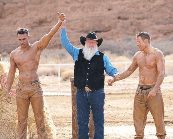PHOTO: Aaron and Cody in a scene from 'The Bachelorette.' (Craig Sjodin/ABC)