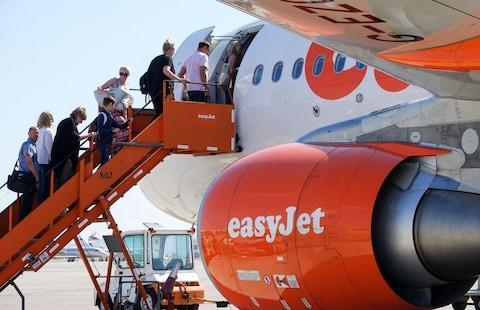 <span>EasyJet shares have fallen 1.7pc this morning</span>
