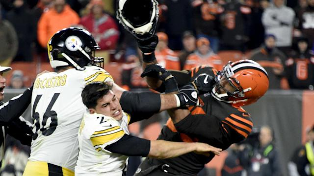 Mason Rudolph has vehemently denied racially abusing Myles Garrett but the Browns defensive end has again alleged that was the case.
