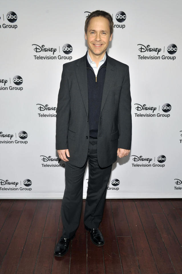 "Chad Lowe (""Pretty Little Liars"") attends the Disney ABC Television Group 2013 TCA Winter Press Tour at The Langham Huntington Hotel and Spa on January 10, 2013 in Pasadena, California."