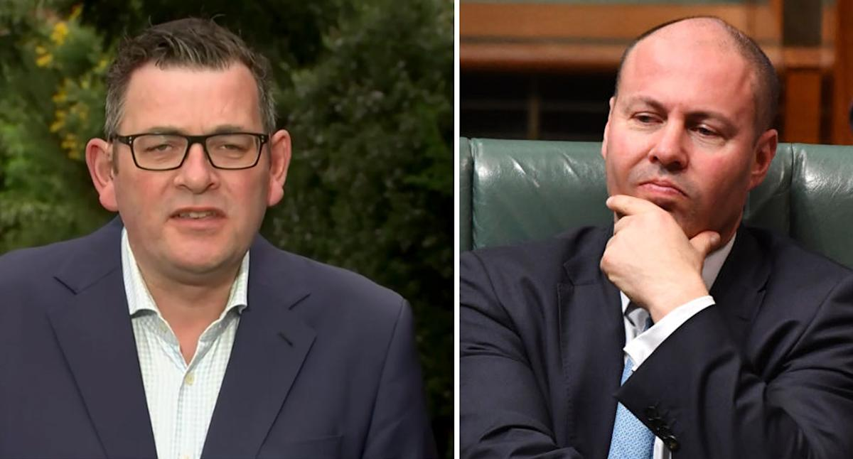 Dan Andrews' scathing retort after treasurer's criticism: 'NOT ABOUT YOU'