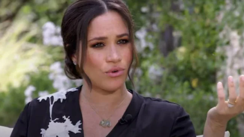 meghan shocks oprah during interview