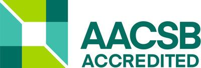 Founded in 1916, AACSB accreditation is the highest standard of quality in business education. AACSB-accredited schools represent a network of global institutions dedicated to continuous quality improvement through engagement, innovation, and impact. (PRNewsfoto/AACSB International)